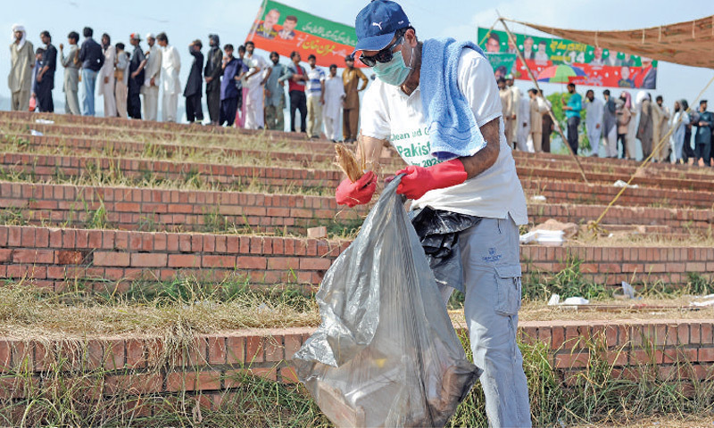 Expat Pakistani wants to set a clean example for countrymen